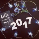 2017 et mes bonnes résolutions