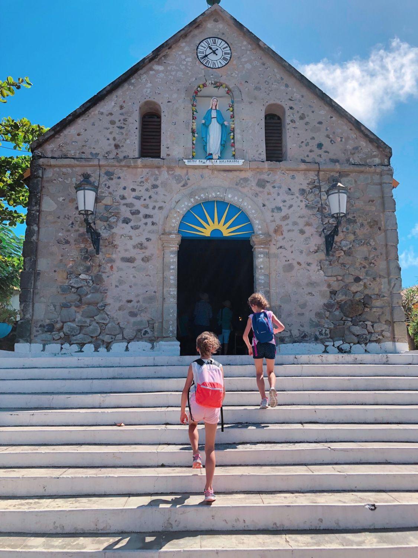 guadeloupe - les saintes - église du bourg