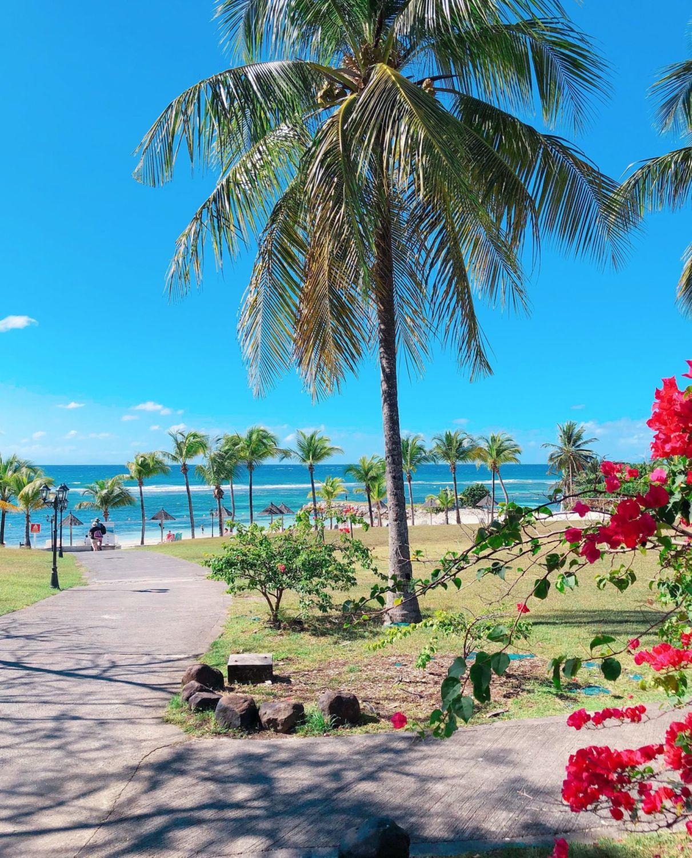 pierre et vacances guadeloupe - plage privée
