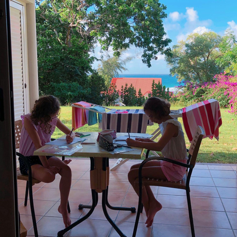 pierre et vacances guadeloupe - appartement vue mer