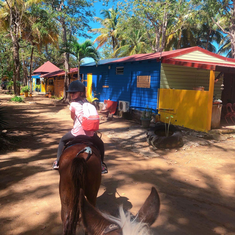 guadeloupe - clugny - rando cheval - chez Francine