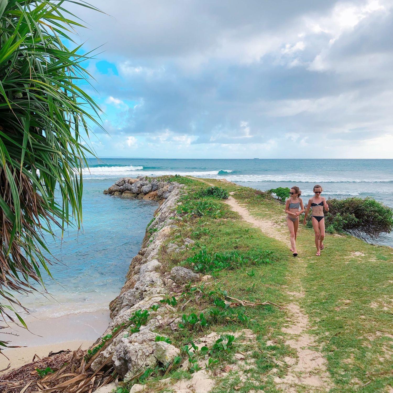 pierre et vacances guadeloupe - plage privée - digue