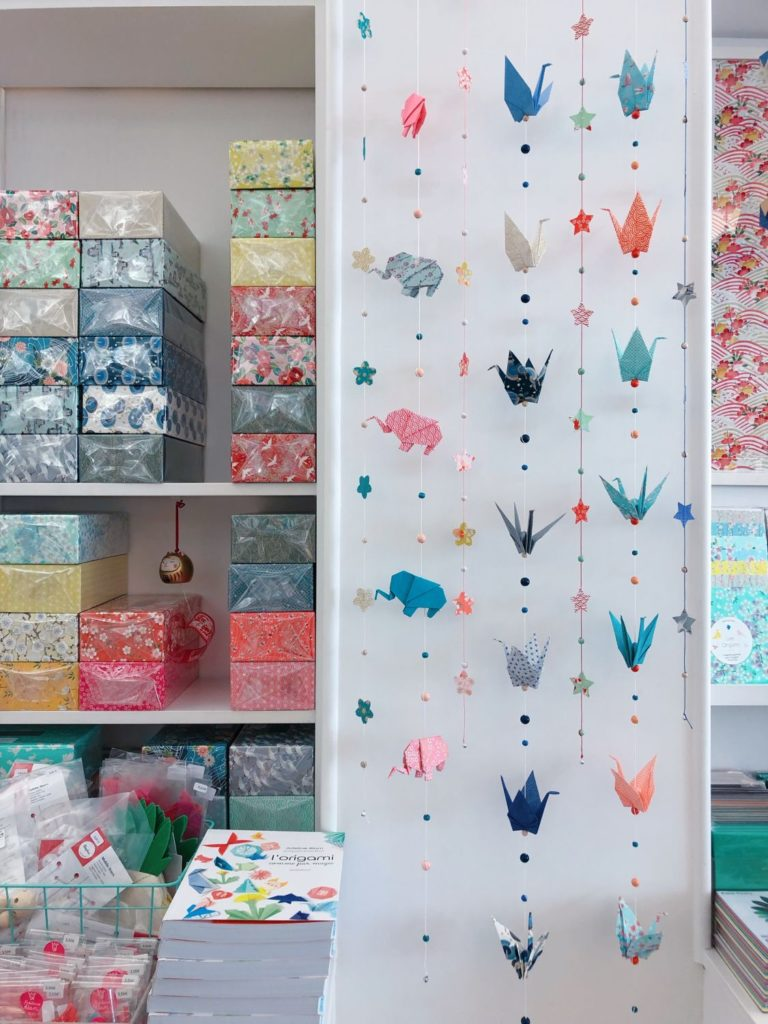 Paris - Adeline Klam - boutique - origamis