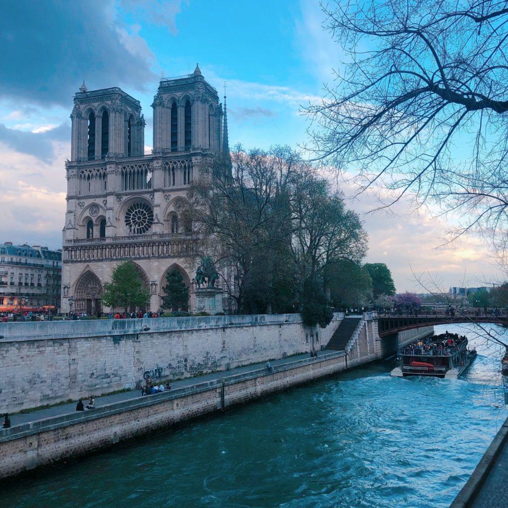 quais de Seine - Paris - Notre-Dame