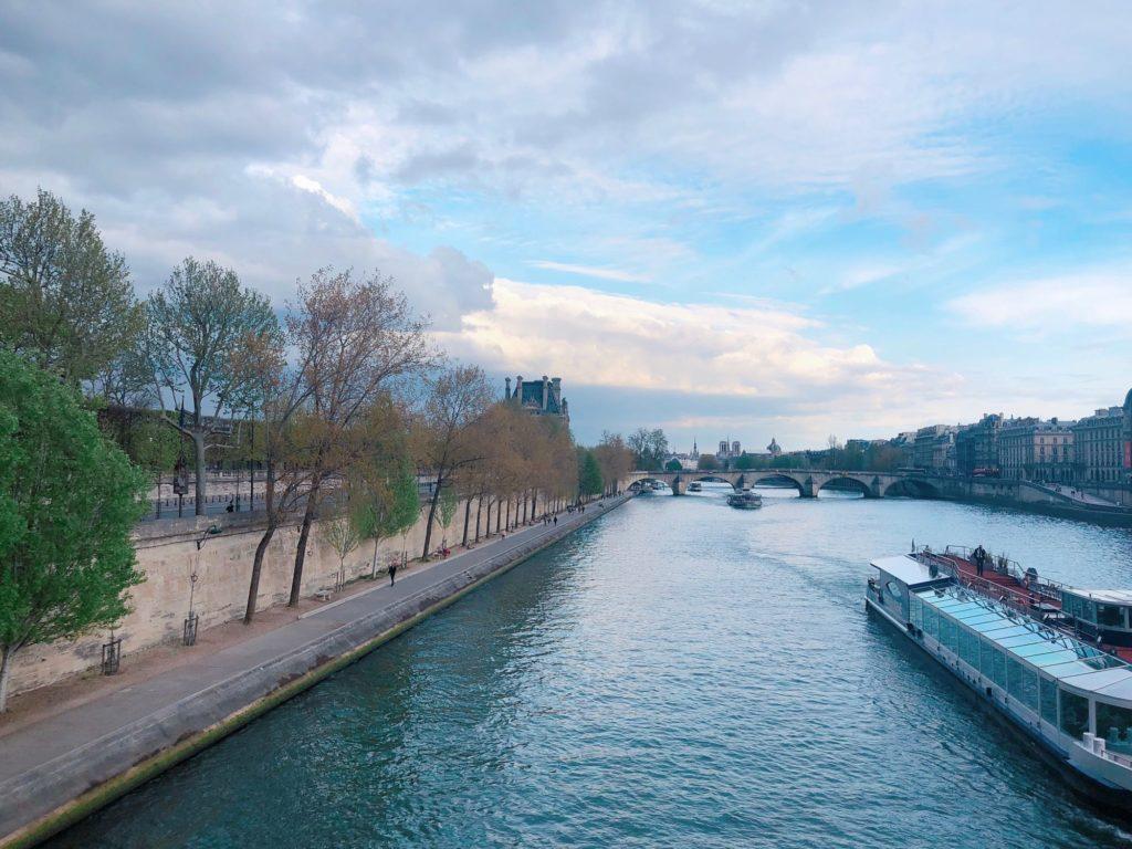 quais de Seine - Paris - vue du Pont des Arts