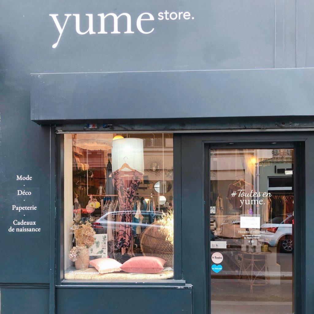 Yume Store Paris - vitrine