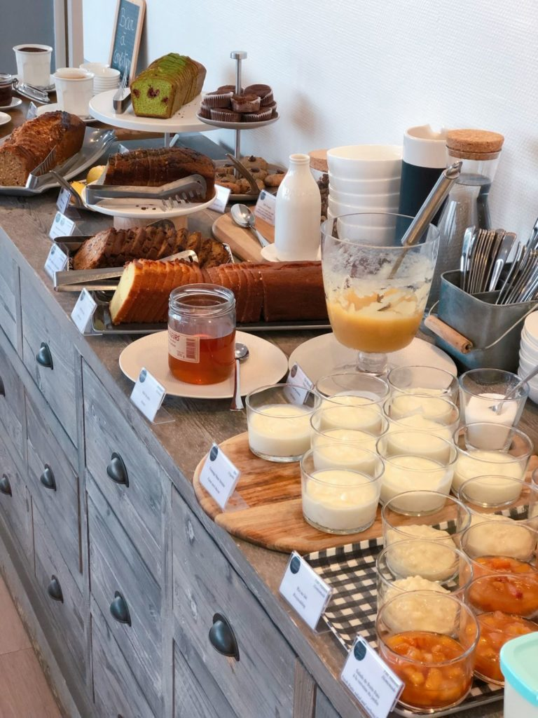 villa les hydrangeas petit déjeuner gourmand